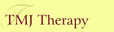 TMJ Therapy