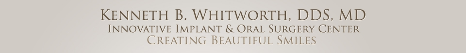 Kenneth B. Whitworth, DDS, MD