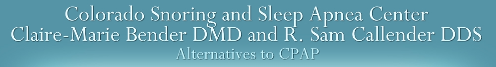 Colorado Snoring and Sleep Apnea Center
