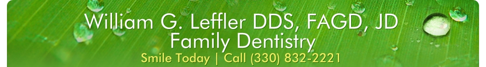 William G. Leffler DDS, FAGD, JD