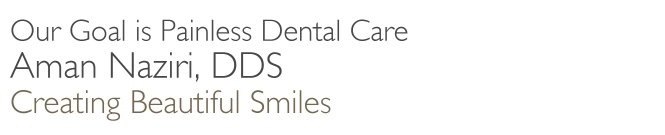 Our Goal is Painless Dental Care