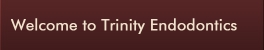 Welcome to Trinity Endodontics