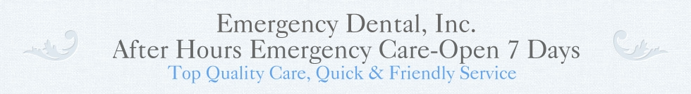 Emergency Dental, Inc.